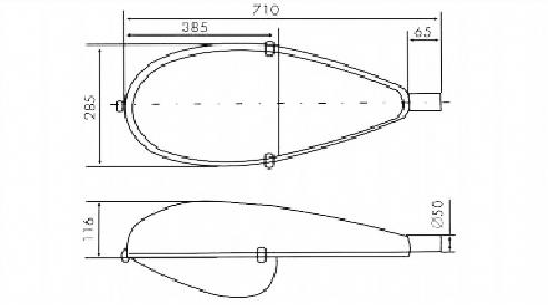 Светильники РКУ 06 , ЖКУ 06 консольные наружного освещения серии 06М