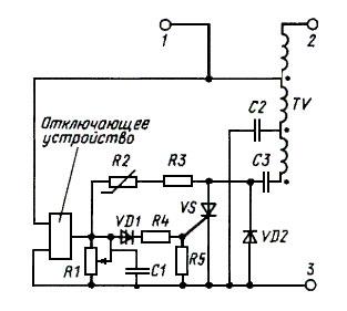 Рис. 1 принципиальная схема ИЗУ
