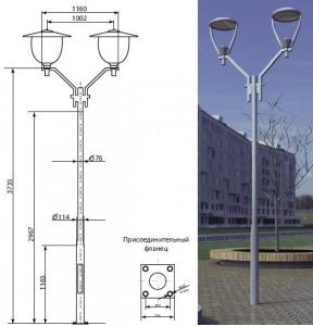 Парковые опоры «Сокол-1», «Сокол-2»