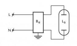 ЭПРА для газоразрядных ламп Philips HID-EXC 36 SOX - E 220-240V