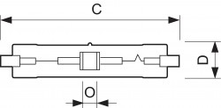 Лампа Philips MASTERColour CDM-TD 220V 70W /942, 4200K (металлогалогенная керамическая)